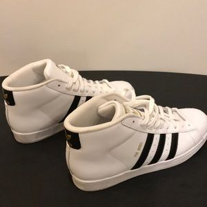 Adidas originals pro model high-top sneakers